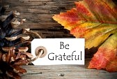 30841944-autumnal-background-with-a-label-with-be-grateful-on-it