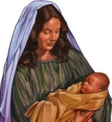 Mary and baby Jesus (2)