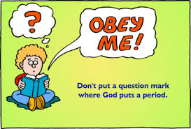 obeying