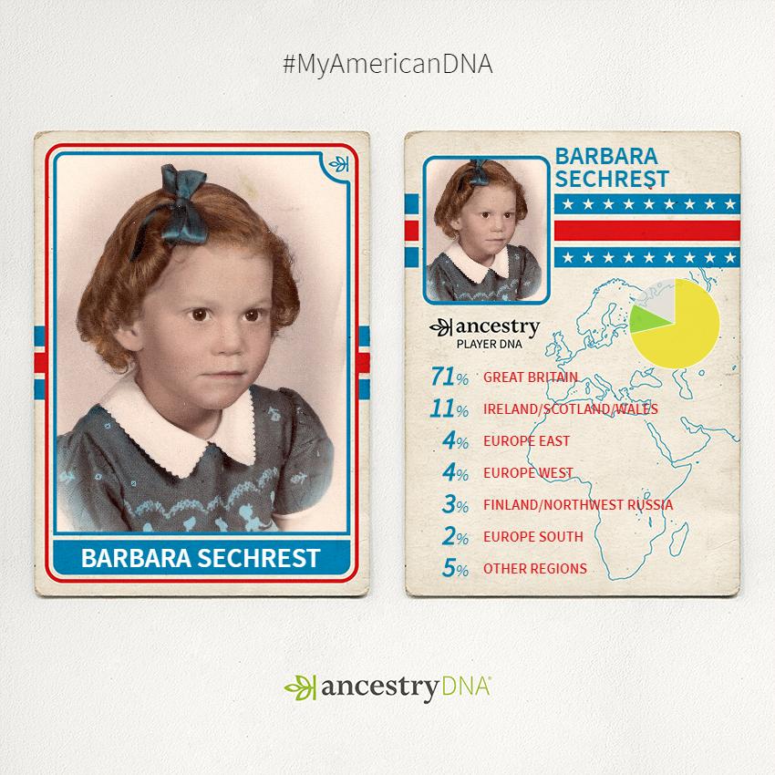 AncestryDNAPlayerCardBarbaraSechrest