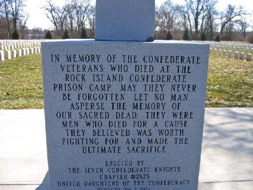 Inscription on the D.A.C. Monument.