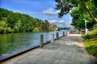 The Downtown Manistee, Michigan Riverwalk